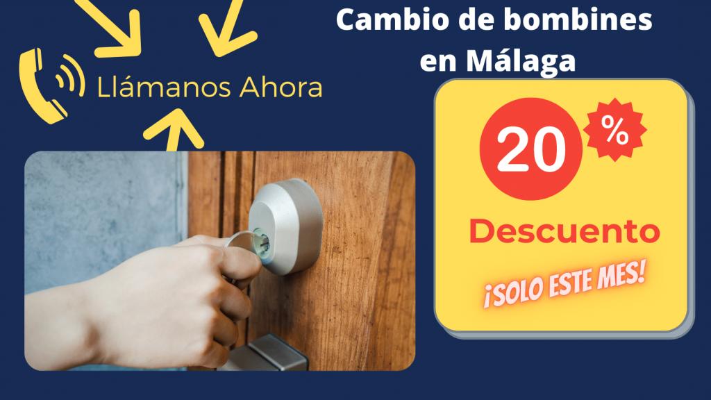 Cambio de bombines en Málaga