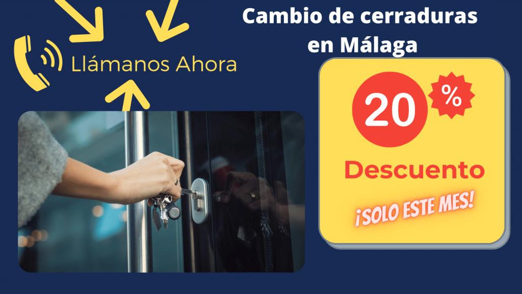 cambio de cerraduras en malaga