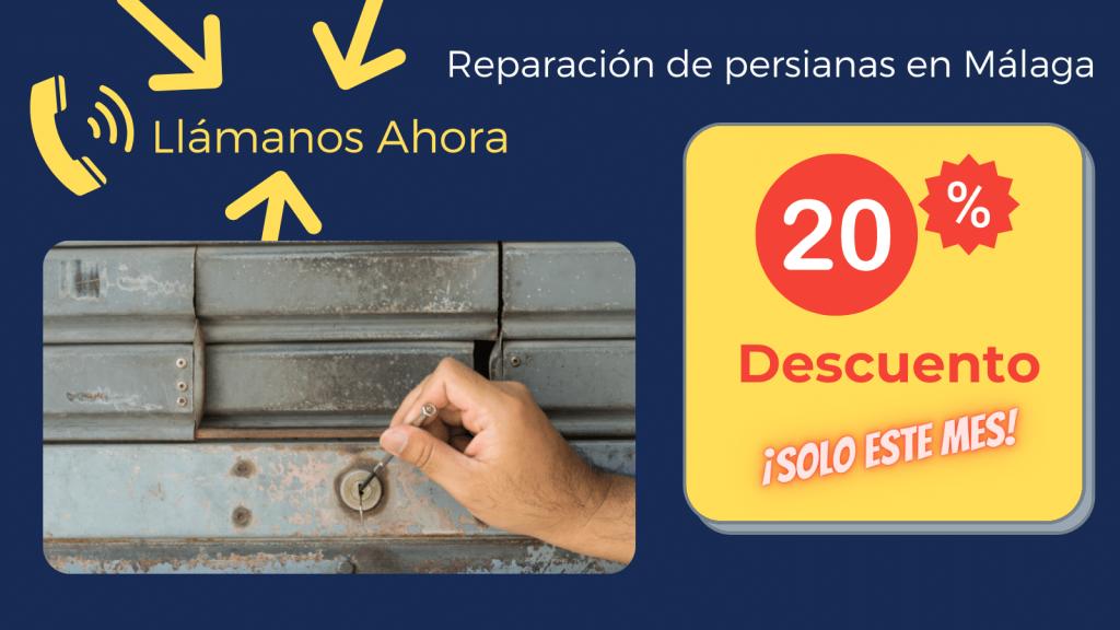Reparación de persianas en Málaga